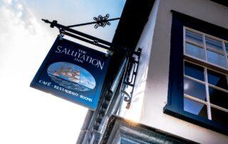 The Salutation Inn   Topsham pub