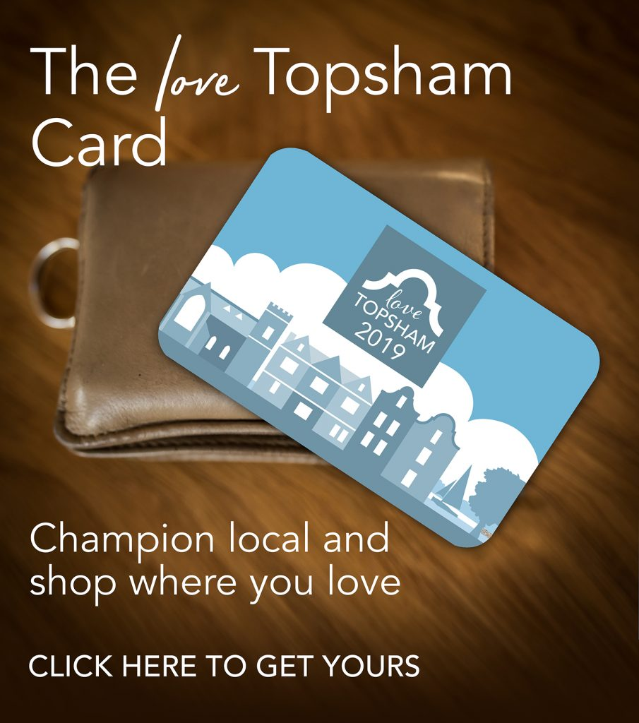 Love Topsham Card sign up
