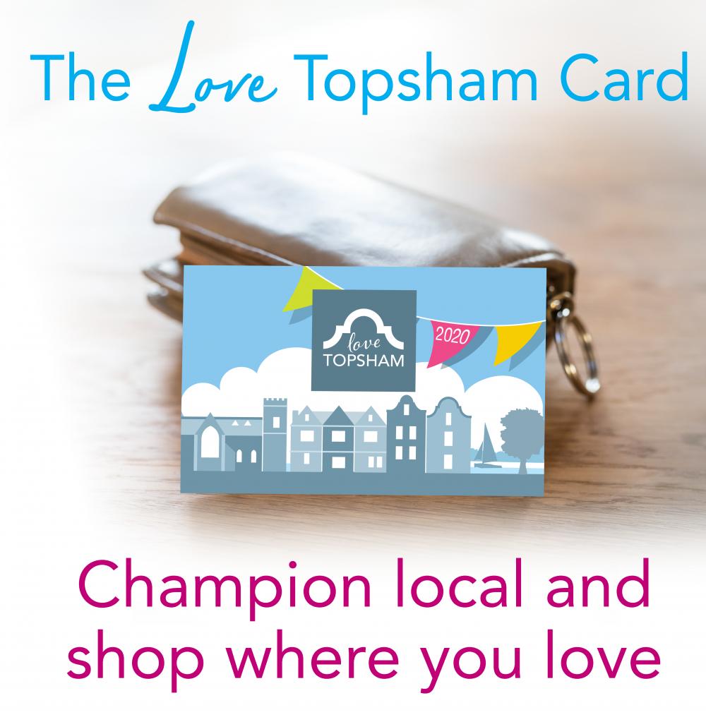Love Topsham card