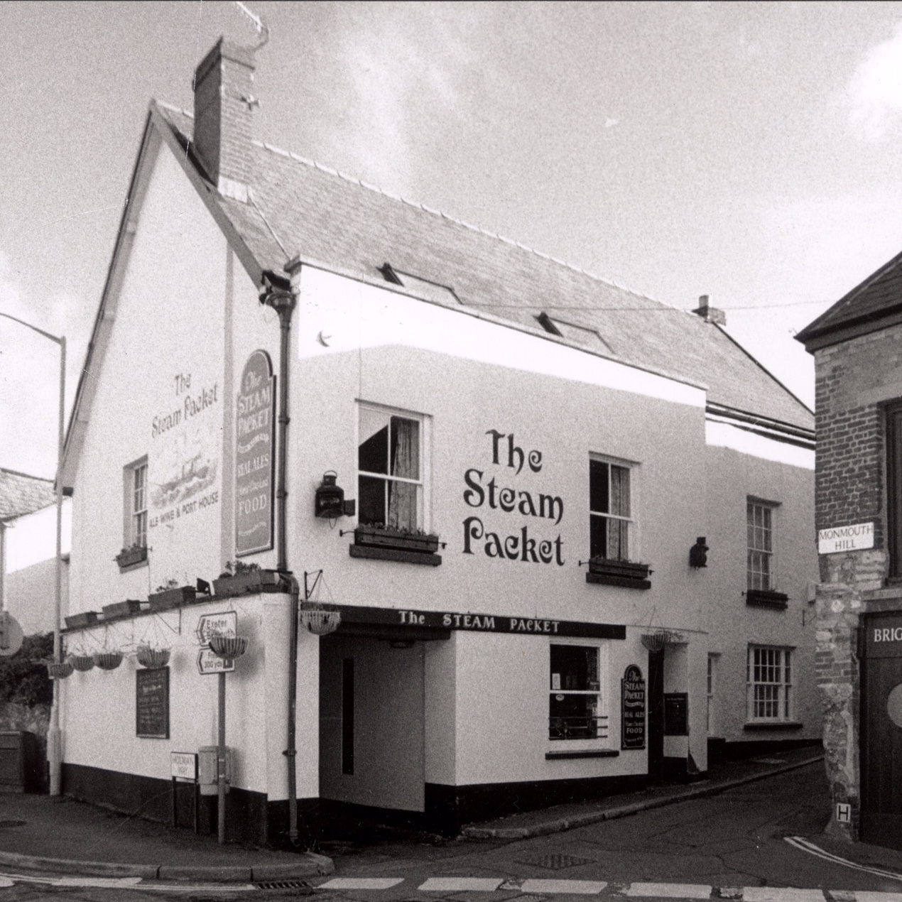 The Steam Packet, now Route 2 Cafe | Topsham pub